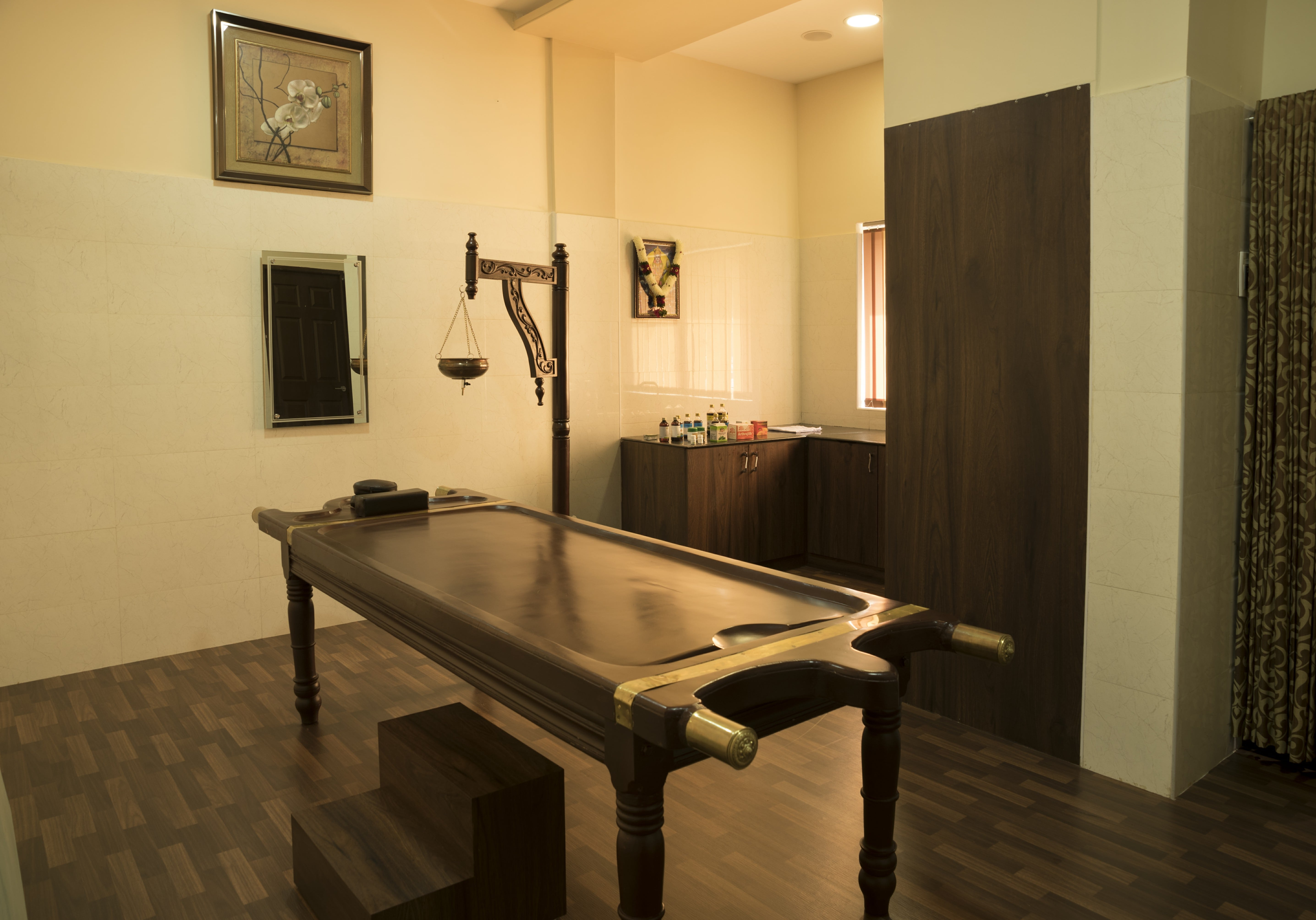 Completed Projects | Phase III | Ayurvedic Room | Retirement Apartments